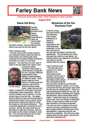 Farley Bank News August 2019