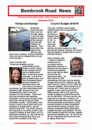 Bembrook Road News February 2018