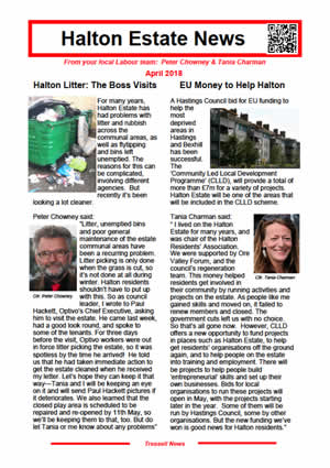 Halton Estate News April 2018