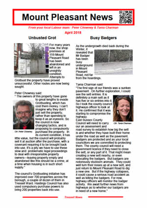 Mount Pleasant News April 2018