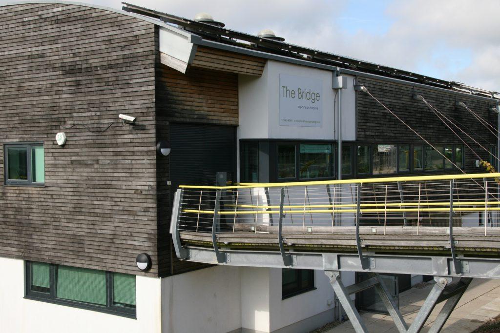 The Bridge Community Centre entrance
