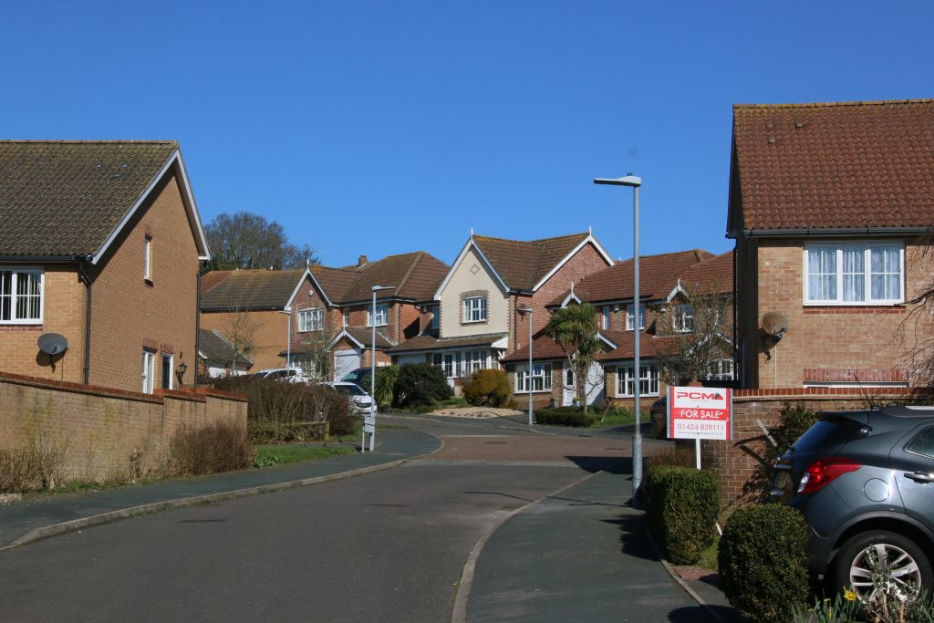 Ticehurst Close, neat detached houses and clean roads